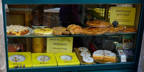 Santiago de Compostela Galicia Spain - Galician goodies