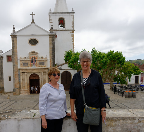 Obidos Portugal - Sherrie and Suzanne S