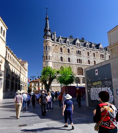 León, Castile and León, Spain - Casa de Botines