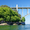 Porto Portugal - Arrábida Bridge The arch is a pedestrian climbing walkway!