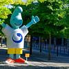 "Lisbon Portugal - ""Gil"" the mascot of the 1998 Expo World Fair"