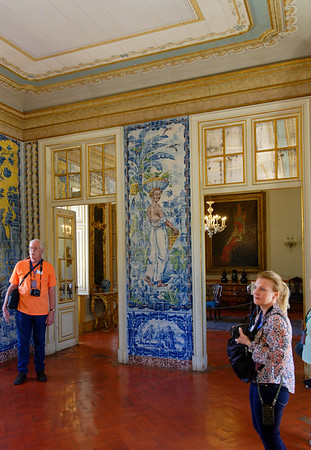 Lisbon Portugal - Palace of Queluz