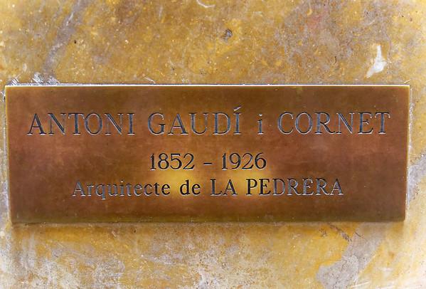 Barcelona Catalonia Spain – Casa Milà Gaudí