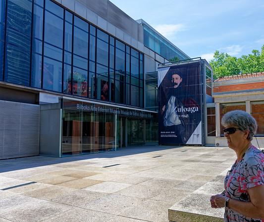 Bilbao, Basque Country, Spain - Bilbao Fine Arts Museum