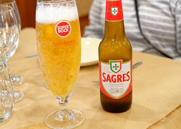 Nazaré Portugal - local beer