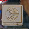 Santiago de Compostela Galicia Spain - shell symbol for the Way of St. James