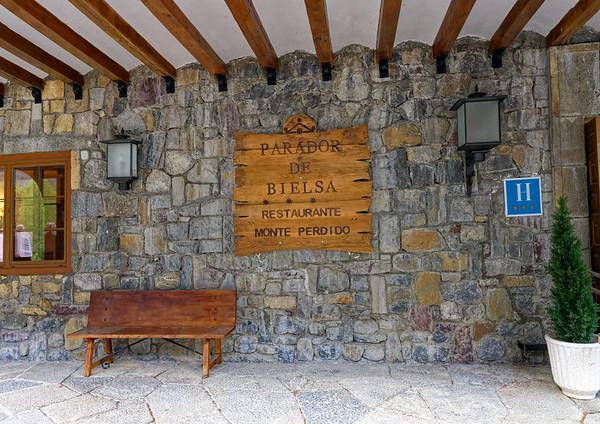 Parador de Bielsa, Aragon, Spain