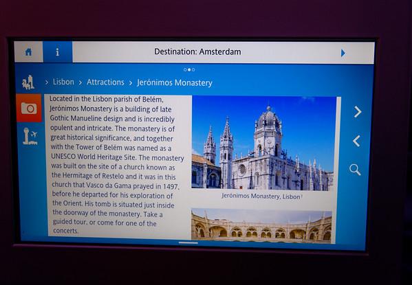screen shot on airplane
