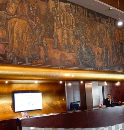 DAY 9:  Hotel Conde Luna, León, Castile and León, Spain, heading to Santander and  Bilbao