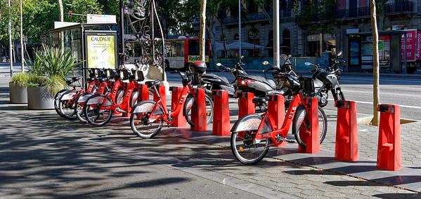 Barcelona Catalonia Spain – Electric bikes
