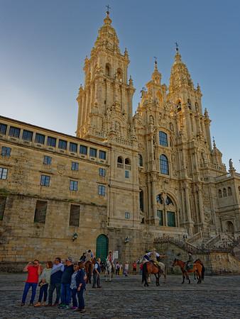 DAY 8:  Santiago, Astorga (Gaudi's Episcopal Palace), León