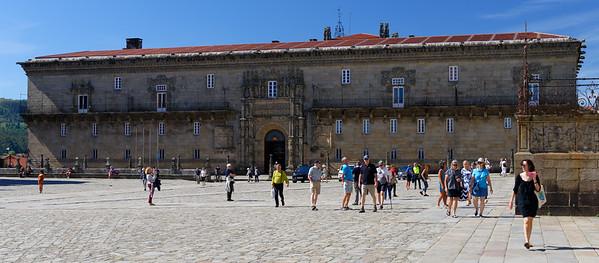 Santiago de Compostela Galicia Spain - our parador on the square