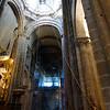 Santiago de Compostela Galicia Spain - Cathedral, another view of the Botafumeiro