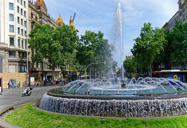Barcelona Catalonia Spain - our reference point for the hotel