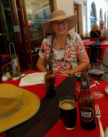 Lisbon Portugal - Suzanne S, local beer