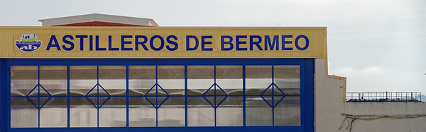 Bermeo, Basque Country, Spain - Bermeo Shipyards