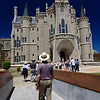 Astorga, Castile and León, Spain - The Episcopal Palace of Astorga