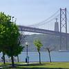 Lisbon Portugal - The 25 de Abril Bridge