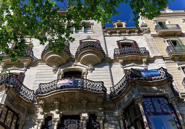 DAY 16:  Barcelona Catalonia Spain – Walk along Passeig de Gràcia