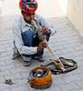 Snake charmer and cobra, near Amber Fort, Jaipur