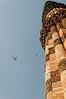 Qutub Minar minaret detail, Delhi