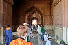Prayers at the Jama Masjid Mosque, Delhi