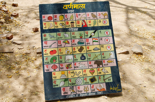 Learning the language, Neemrana, on the road to Jaipur