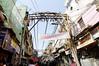 Wiring, rickshaw ride, Delhi