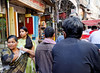 Street scene, rickshaw ride, Delhi