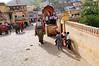 Elephant boarding platform, Amber Fort, Jaipur