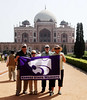Humayun's Tomb and Wildcats, Delhi