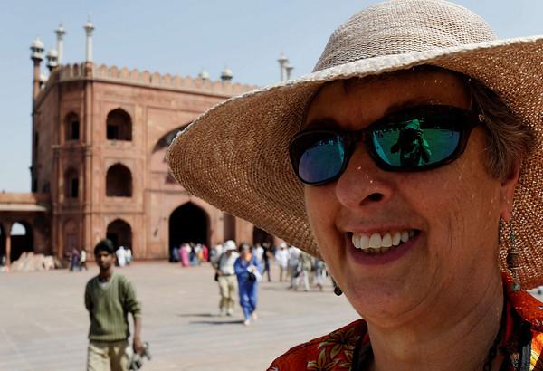 Suzanne, Jama Masjid Mosque, Delhi