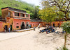 School courtyard, Neemrana, on the road to Jaipur