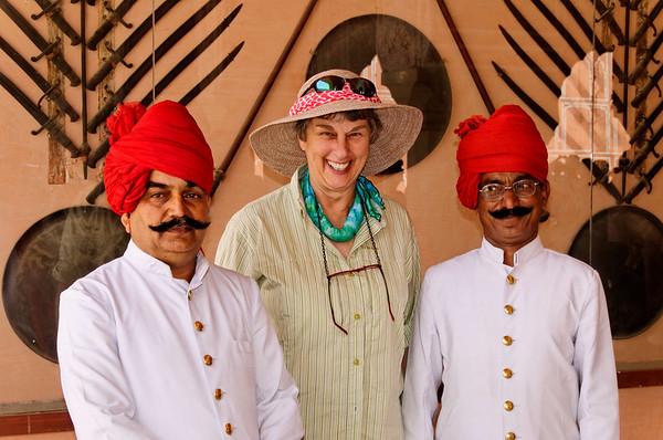 Suzanne, Diwan-I-Khas, City Palace, Jaipur