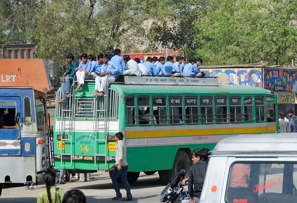 What seat belts?, on the road to Jaipur
