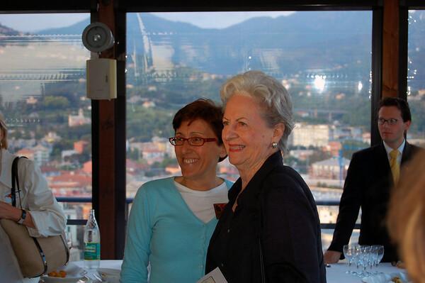 Vera farewell reception Sestri Levante, Italy