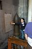 Replica the bomb Cathedral of San Lorenzo Genova, Italy