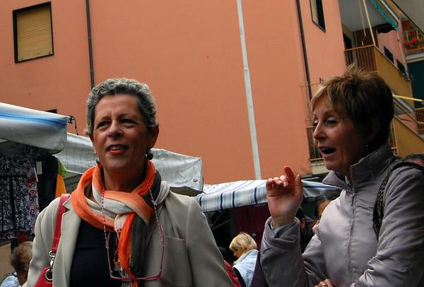 Sylish shoppers Sestri Levante, Italy