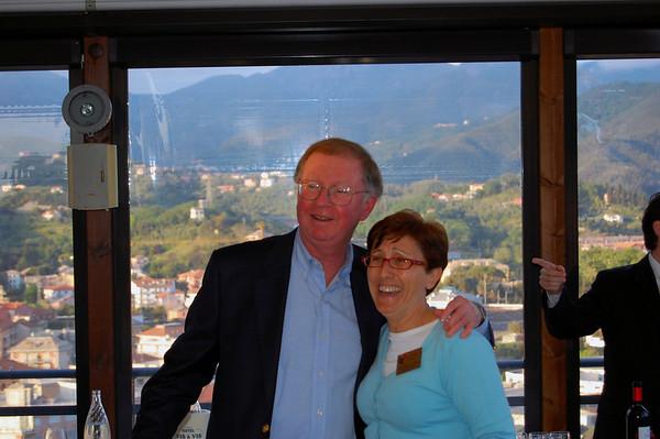 Phil farewell reception Sestri Levante, Italy