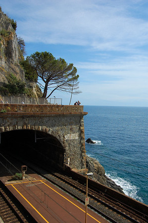 Rail tunnel Via dell'Amore, Italy