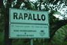 Entering Rapallo, Italy