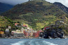 Tried to land in Vernazza but too rough - on to Monterosso Bay of Liguria, Italy
