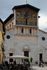 Church San Frediano is situated on the Piazza San Frediano, near the Piazza del Anfiteatro. It is made of white stone and with an amazing painting on its facade. Lucca, Italy