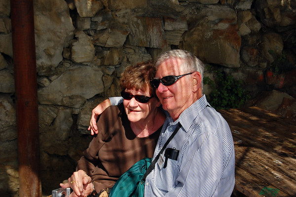 Two on the Walk of Love, Carolyn & Charlie Via dell'Amore, Italy