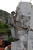 Miner in marble Carrara, Italy
