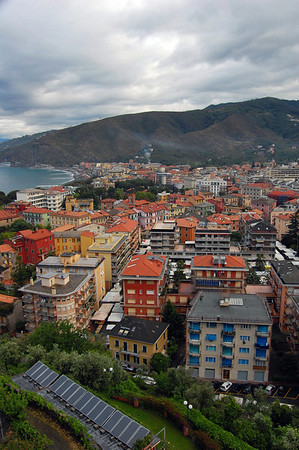 From the 5th floor, Hotel Vis a Vis Sestri Levante, Italy