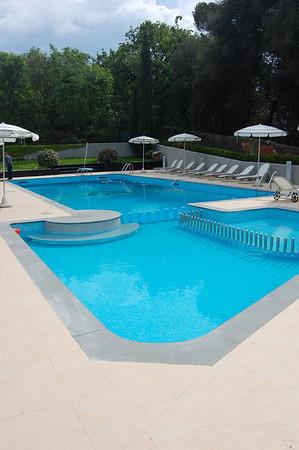 Pool on the 5th floor, Hotel Vis a Vis Sestri Levante, Italy