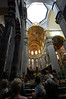 During WWII, a bomb came crashing through from the right and landed unexploded Cathedral of San Lorenzo Genova, Italy