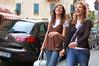 Happy girls Sestri Levante, Italy