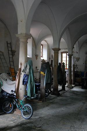 Work shed Villa Torrigiani Lucca, Italy